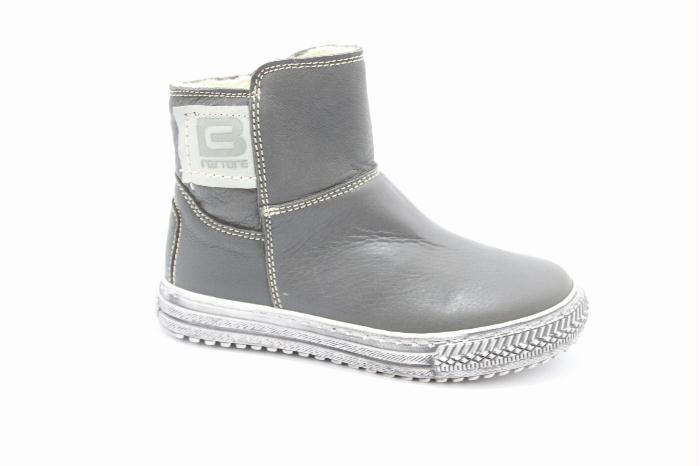 Kinderschoenen: Cole bounce restore Half high boot in black calfskin.. Scheepskin inside