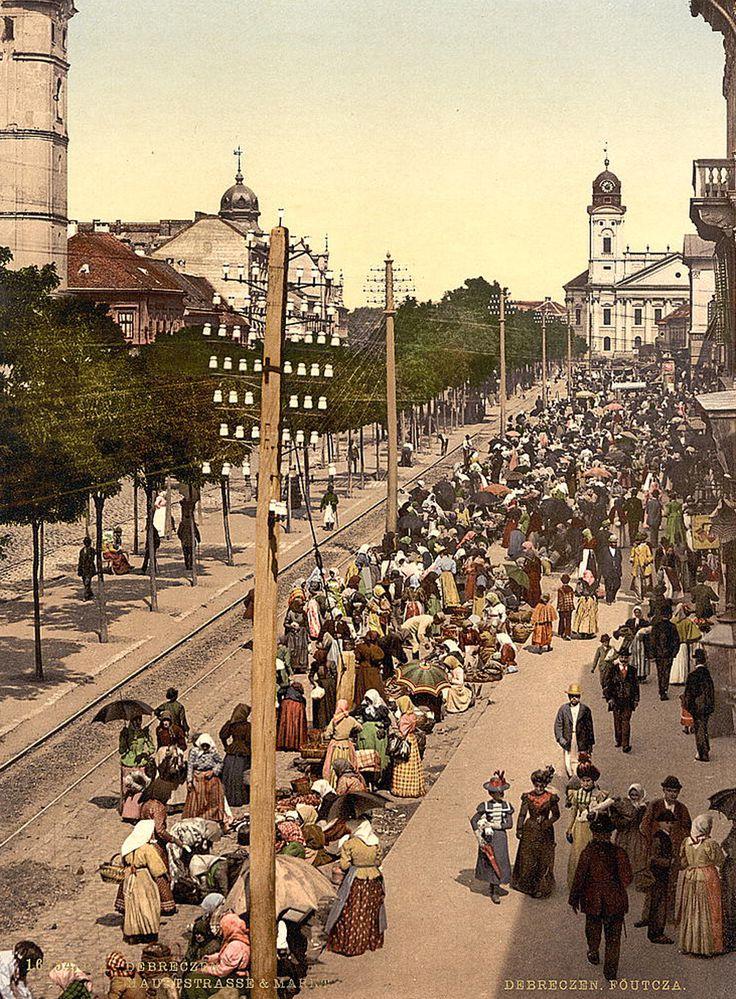 Fényképek a monarchia Magyarországáról