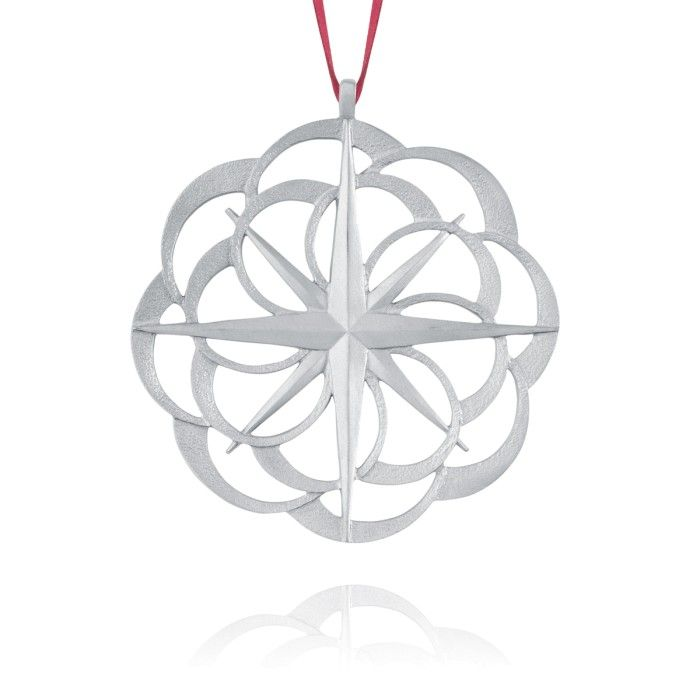 COMPASS ROSE COLLECTOR ORNAMENT 2011