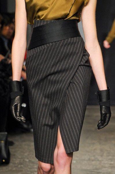 Modelagem mais linda de saia lápis!