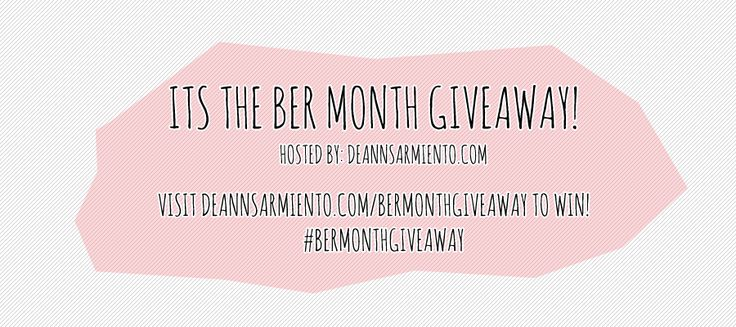 The longest Christmas celebration is here! Join It's Ber Month Giveaway!