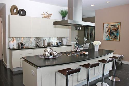 kitchen modern kitchen: Kitchens Design, Apartment Kitchens, Dreams Kitchens, Contemporary Kitchens, Backsplash Ideas, Kitchens Contemporary, Modern Kitchens, Kitchens Modern, Stainless Steel