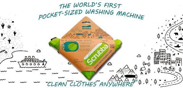 camping/traveling/hand washing machine :) I love smart people.