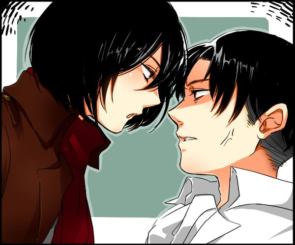 Mikasa x Levi | Anime/Manga Couple's | Pinterest | Levis ...