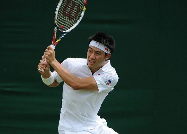 3rd Round Wimbledon Nishikori vs R. Bautista Agut