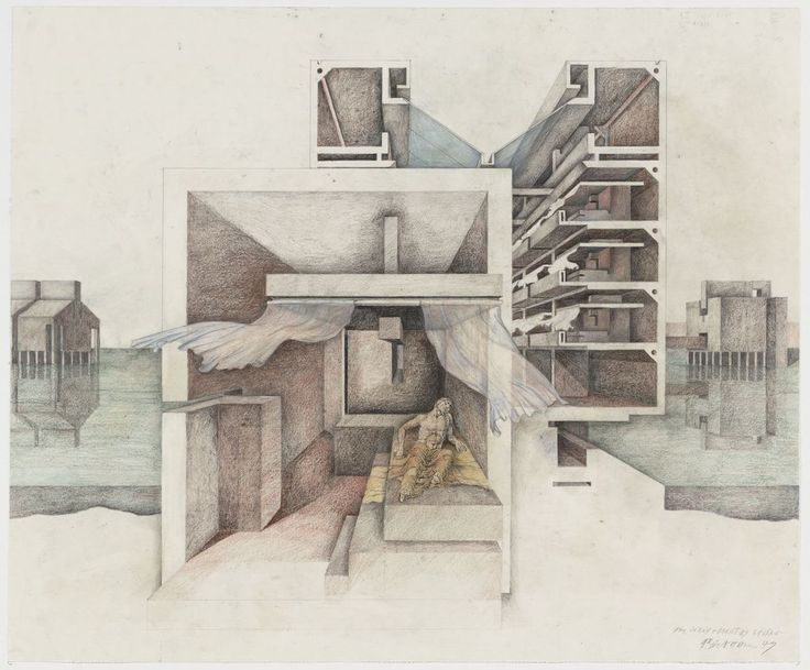 Best Raimund Abraham Images On Pinterest Architecture Drawing