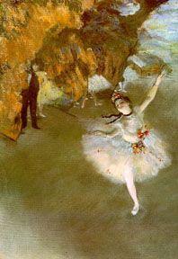 Edgar Degas, The star, 1878