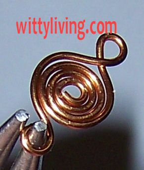 1000 images about wire metal art wire on pinterest for Poisson coil