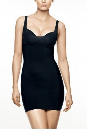 MicrofiberUnderdress Soft Control Defining Curves Invisible underdress to wear with skirts or dresses, bra is not part of the offer Microfiber and Lycra