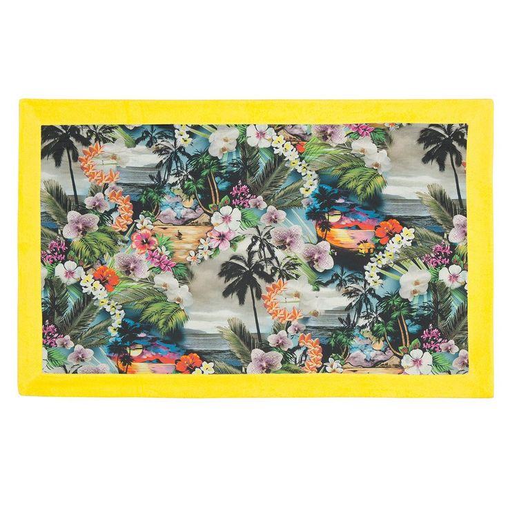 Hawaiian Tropic Yellow | Signature Beach Towel - Sun of a Beach