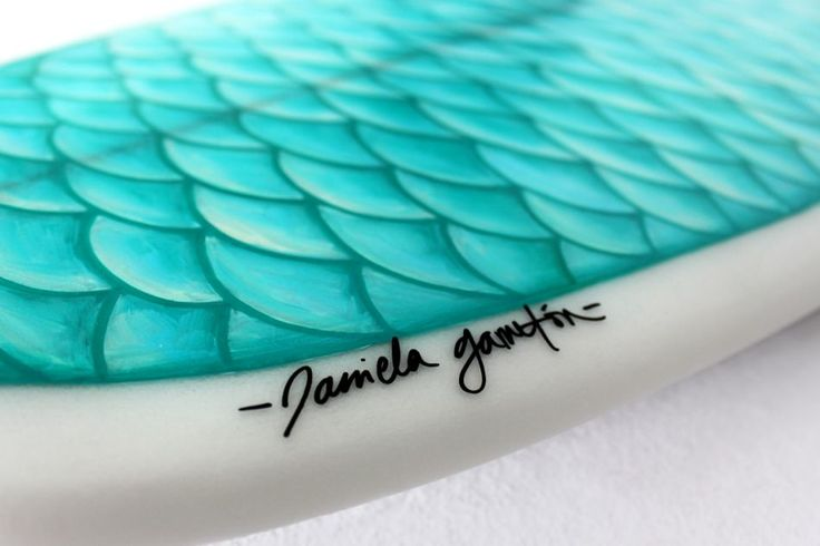 Mermaid surf board art! If I surfed I would totally have this board.
