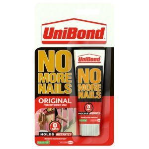 Unibond No More Nails Original Solvent Free Grab Unibond No More Nails Original Solvent Free Grab Adhesive 40ml.This grab adhesive from the No More Nails Original range by UniBond has a instant initial grab fully dry in 24-48 hour drying time and is http://www.MightGet.com/april-2017-1/unibond-no-more-nails-original-solvent-free-grab.asp