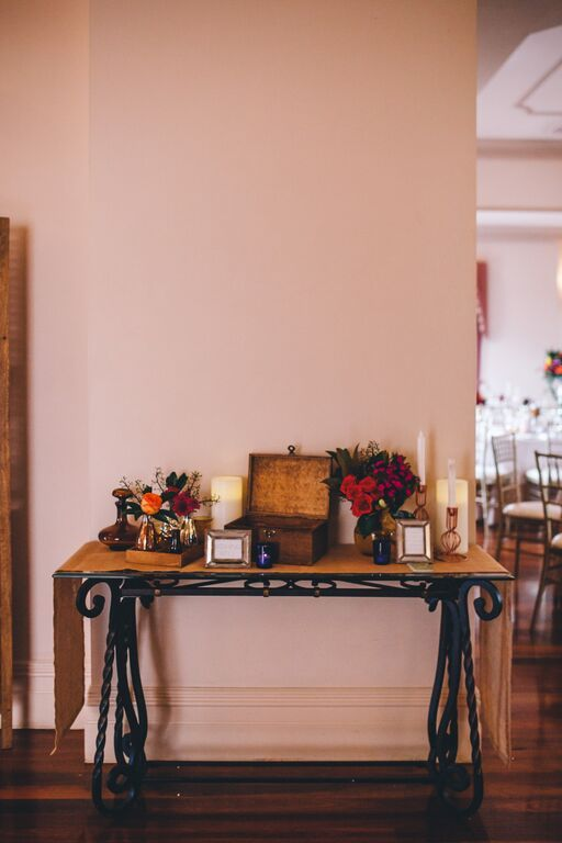 Regency room beautifully styled | Eschol Park House