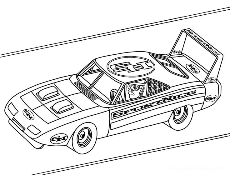 Printable NASCAR coloring pages Cars coloring pages