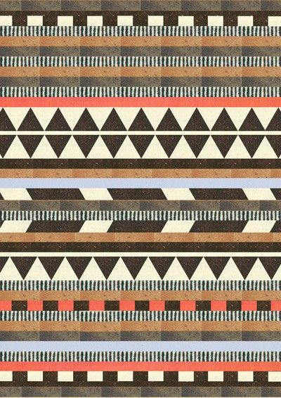 This would be an awesome quilt.  And fun to do since it's all different throughout.  DG Aztec No.1  by Dawn Gardner