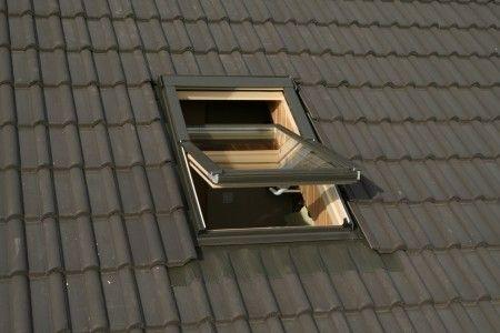 Größe: 78 x 98 - Oman Dachfenster mit Eindeckrahmen (Holz)