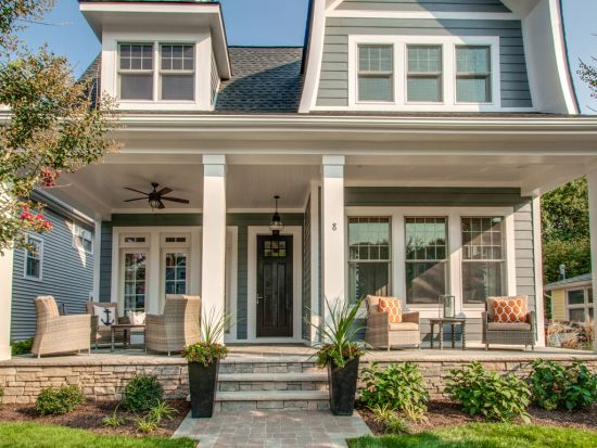17 best ideas about colonial exterior on pinterest for Colonial style homes for sale