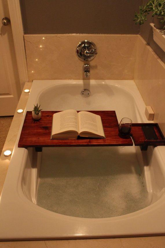 les 25 meilleures id es de la cat gorie caddie de bain sur pinterest planche de bain d cor. Black Bedroom Furniture Sets. Home Design Ideas