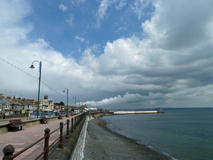 Penzance Promenade Cornwall.