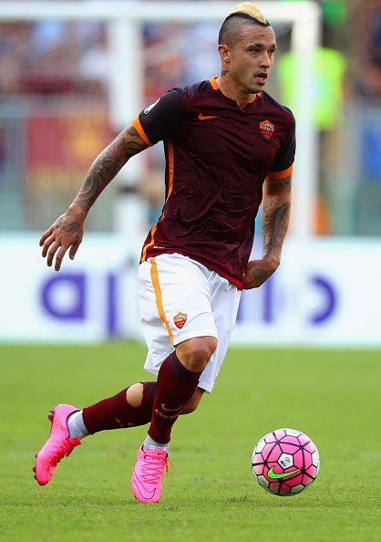 Radja Nainggolan, midfielder, Belgium, Roma