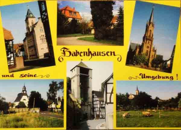 Babenhausen postkarte