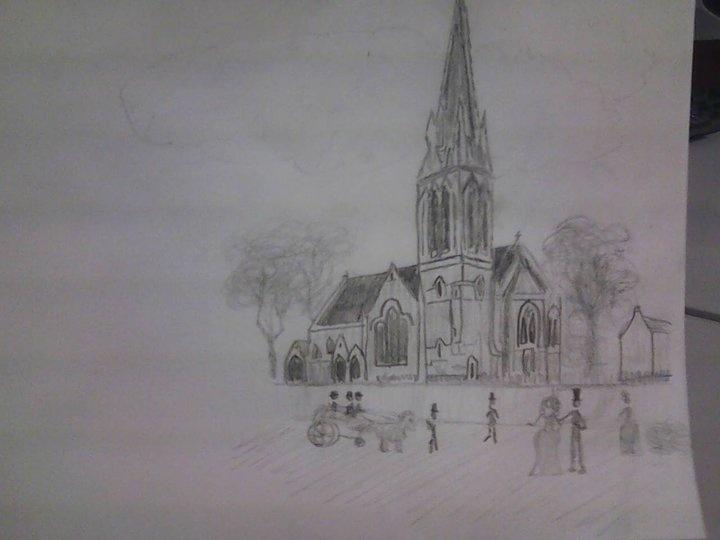 Exterior church design j steele graphic designs for Church exterior design ideas