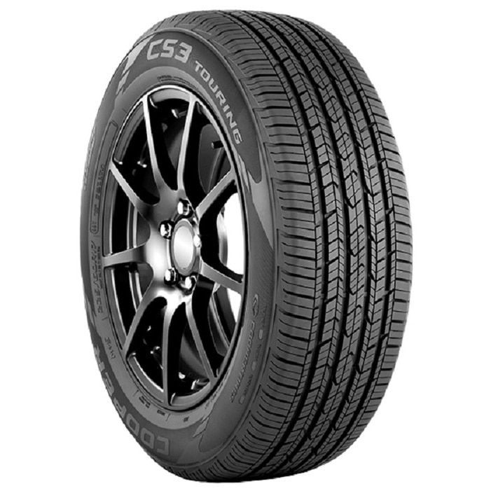 Cooper CS3 Touring All Season Tire - 225/60R16 98T (225/60R16), Black