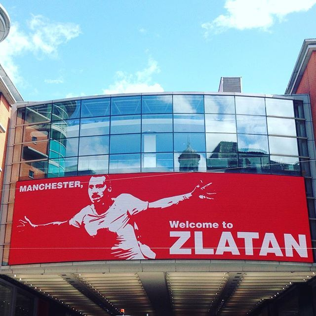 Manchester, welcome to Zlatan 🤔☝🏻️#manchester #mufc #united #zlatan #ibrahimovic
