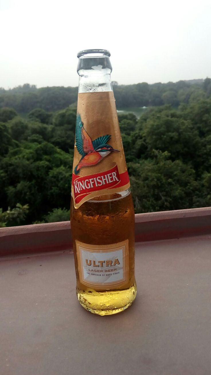 Kingfisher ultra, a lovely refreshing beer at Socisl