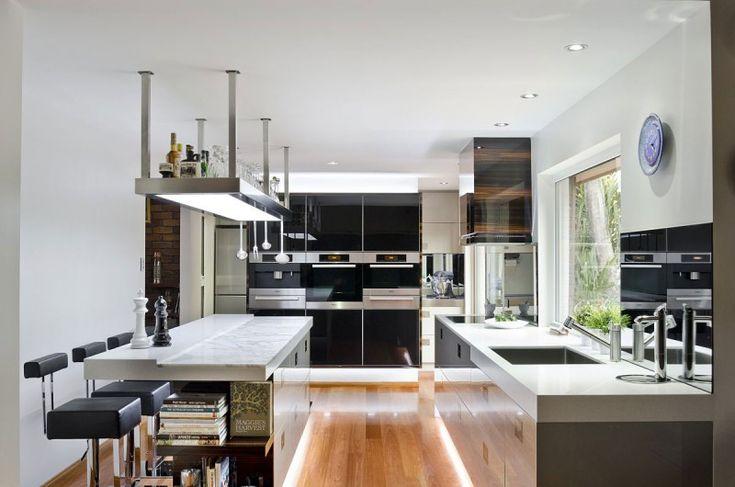 A Contemporary Kitchen in Australia by Darren James: Darren James, Dreams Kitchens, Kitchens Design, Contemporary Kitchens, Interiors Design, Kitchens Layout, Design Kitchens, Modern Kitchens, Bath Design