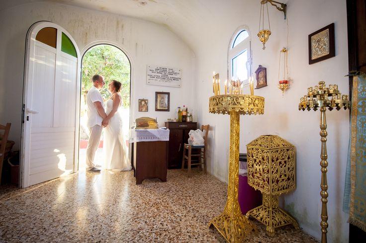 Chapel wedding Katelios Kefalonia