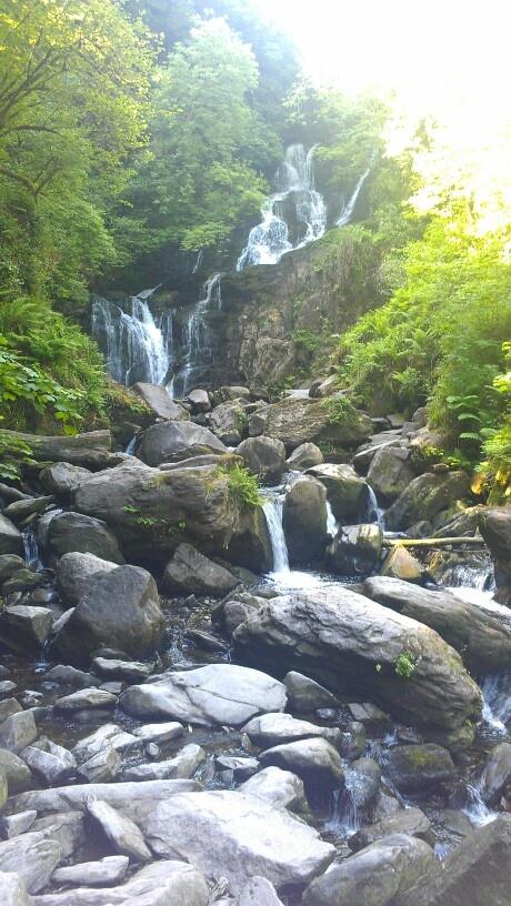 Torc Waterfall, Ring of Kerry Ireland