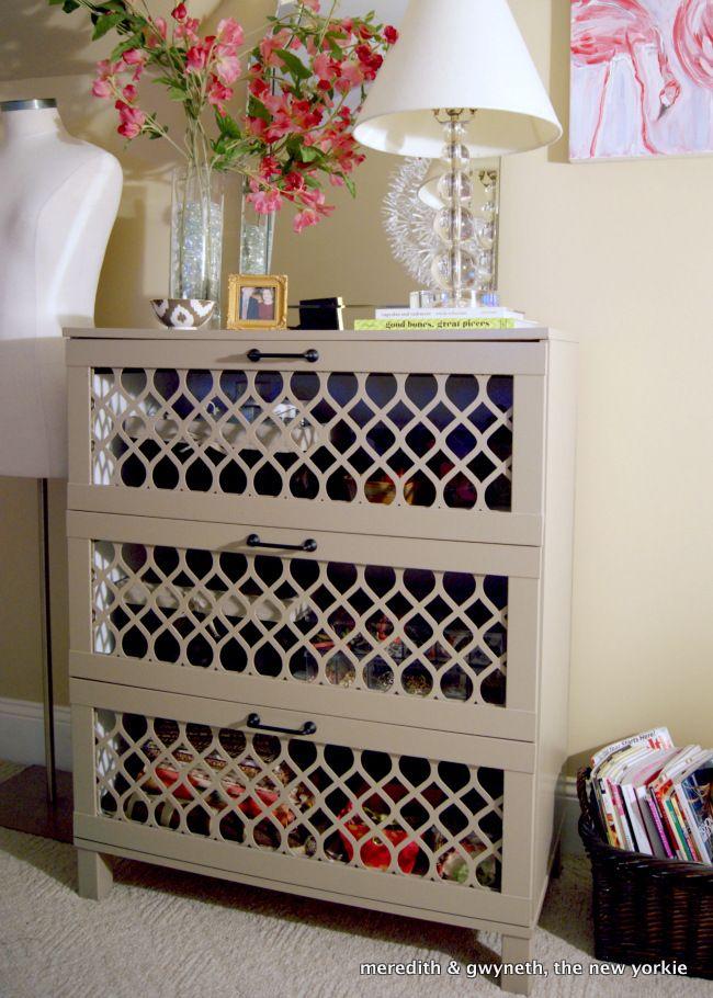 Dumpster Dive Dresser Turned Home Office Storage Overlays Home And Old Dresser Makeovers