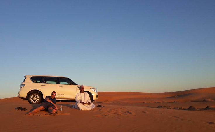 """Impressioni di viaggio: Fabio e Michelangelo dall'Oman: """"l'esperienza del deserto è sempre stupefacente e il Wahiba Sand omanita ha superato ogni aspettativa""""."""