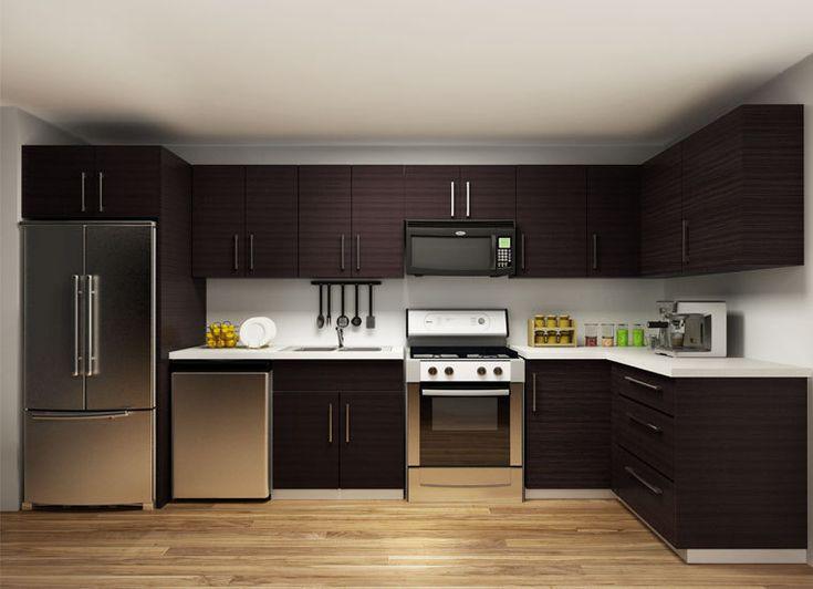 mueble cocina modernos melamina  Buscar con Google