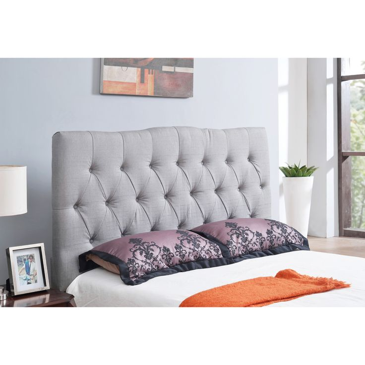 25 best ideas about linen headboard on pinterest quilted headboard high headboard beds and for Quilted headboard bedroom sets