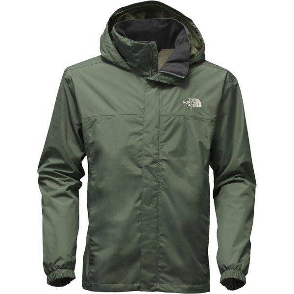The North Face Resolve 2 Hooded Jacket ($90) ❤ liked on Polyvore featuring men's fashion, men's clothing, men's outerwear, men's jackets, mens nylon jacket, mens hooded jackets, the north face mens jackets and mens jackets