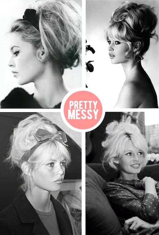 *bellaMUMMA {life is beauty-full}: hair icon: BRIGITTE BARDOT