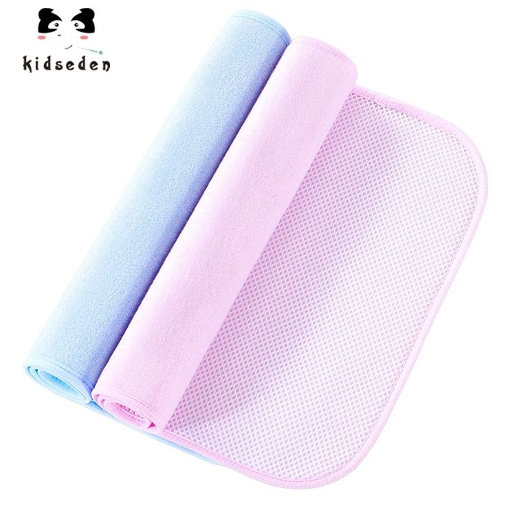 Baby Changing Pad Cover Soft Waterproof Portable Mattress Diaper Changing Mat Strong Absorbent Urine Pad Baby Stroller Protector #Affiliate