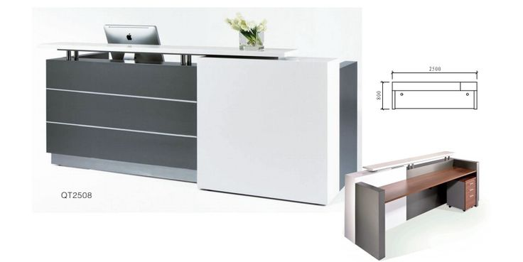 Mueble recepcion moderno buscar con google consultorio for Altura de un escritorio