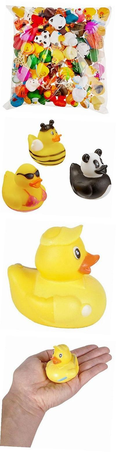Favors and Party Bag Fillers 26385: 2 Rubber Duck Assortment (100 Piece) -> BUY IT NOW ONLY: $31.79 on eBay!