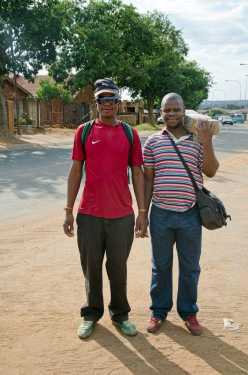 """Shoot me"" Soweto style"