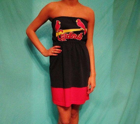 St. Louis Cardinals Game Day Dress