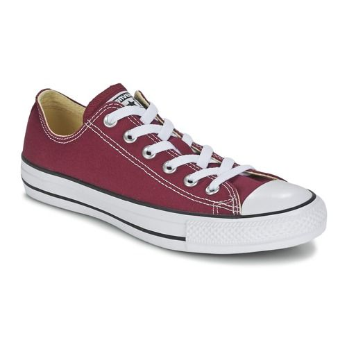 Baskets+basses+Converse+CHUCK+TAYLOR+ALL+STAR+SEASONAL++OX+Bordeaux+51.99+€