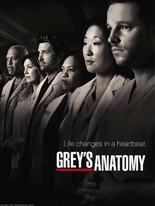 "CAST: Ellen Pompeo, Sandra Oh, Katherine Heigl, Justin Chambers, T.R. Knight, Chandra Wilson, James Pickens Jr., Isaiah Washington, Patrick Dempsey; DIRECTED BY: Shonda Rhimes; Features: - 27"" x 40"" -"