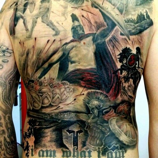 Back piece done @ voodoo ink by Graham