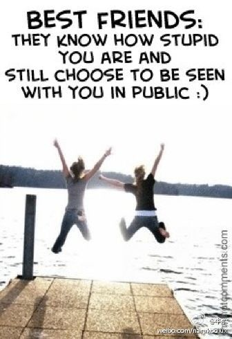 Life is an awful, ugly place to not have a Best Friend. Become our friend myfriendshop.com...
