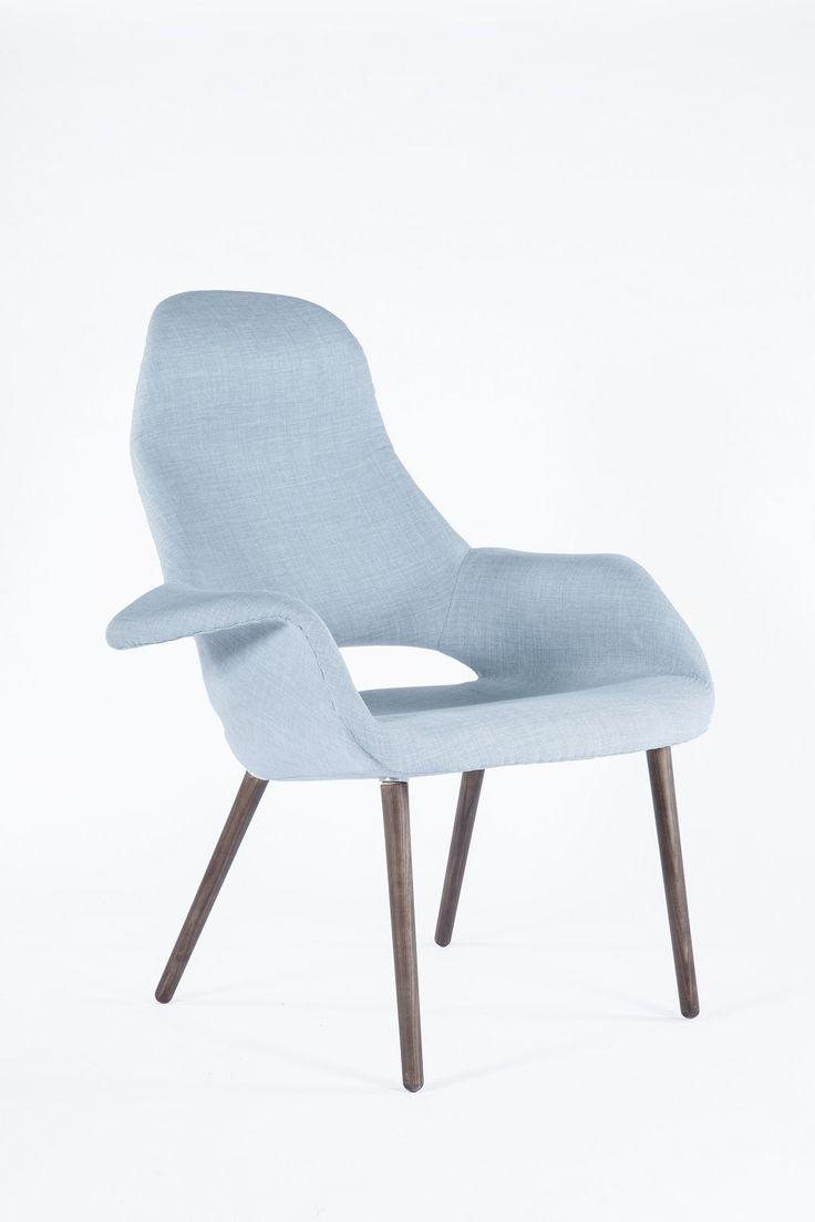 Knoll life chair geek - The Organic Chair High Back Blue
