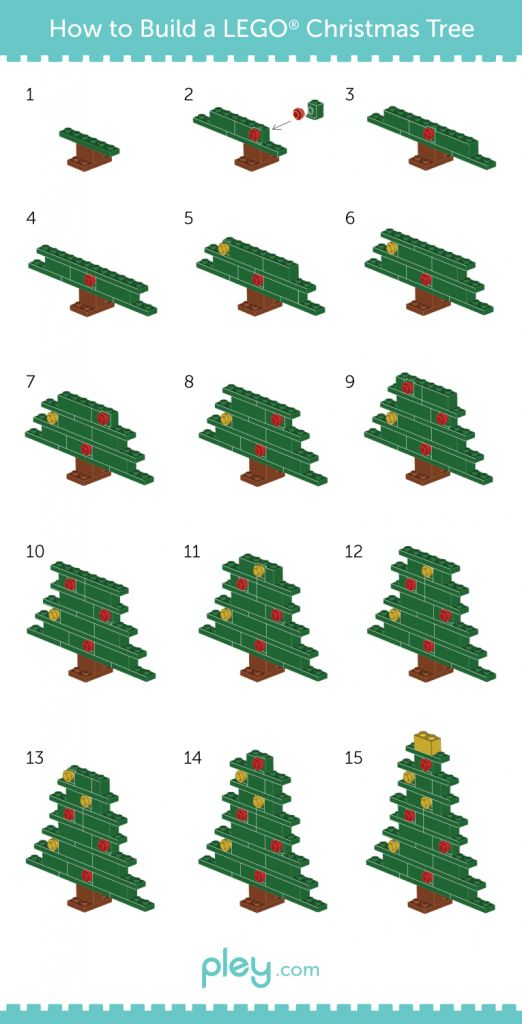 LEGO How-to Build: Christmas Tree