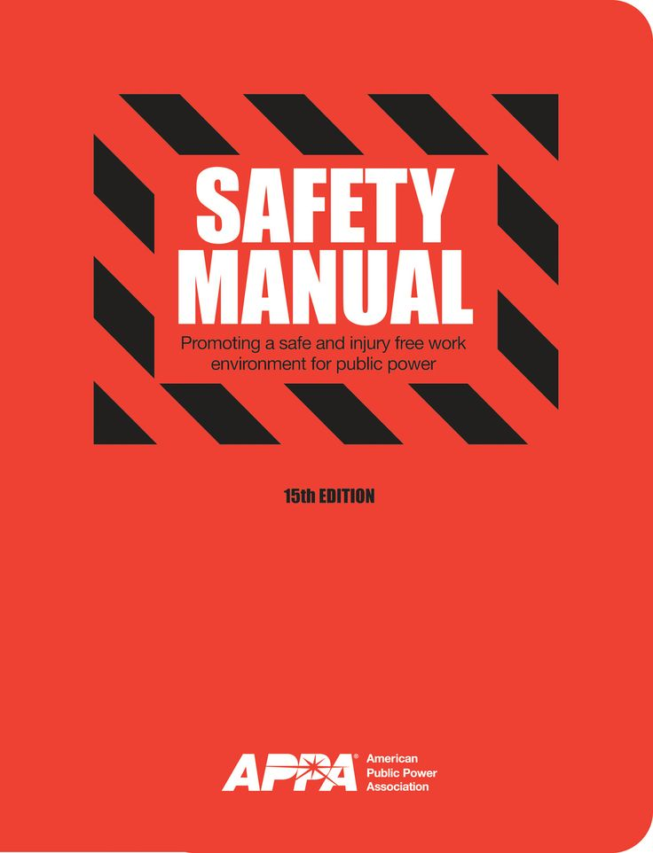 Safety Manual  Cover Design  Thesis Aesthetics